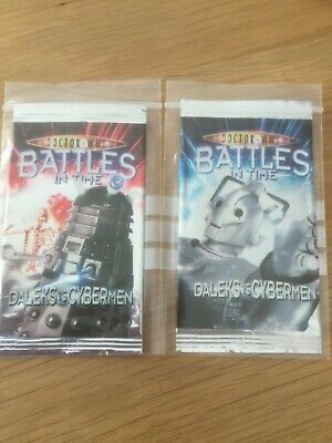 Doctor Dr Who Battles in Time - BiT - Daleks v Cybermen - DvC - Common Set of 16