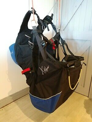 Sup'air X-ALPS paragliding harness (perfect condition, medium)