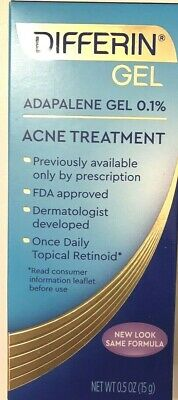 Differin Adapalene Gel Acne Treatment 0.5 Oz.