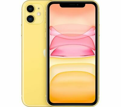 APPLE iPhone 11 - 64 GB, Yellow - Currys