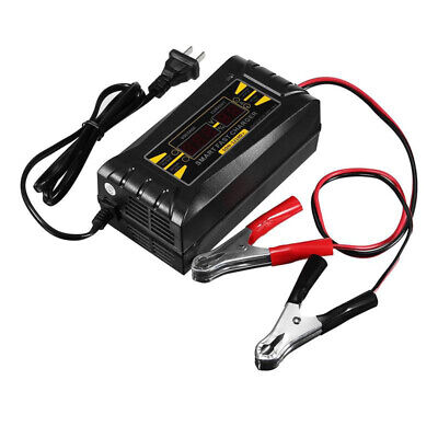 Son-1210D+ Lcd Smart Fast Lead-Acid Battery Charger 12V 10A For Car Motorcy I3S9