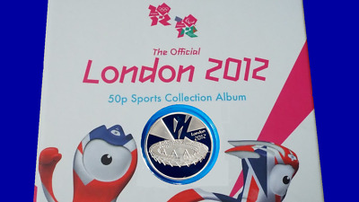 Completer Medallion London 2012 Olympic 50P Coin Hunt Collection Album