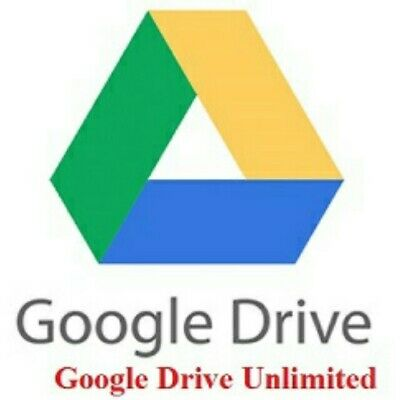 Google Drive (Unlimited) Lifetime Account (Not Team Drive) - Email ID User Name