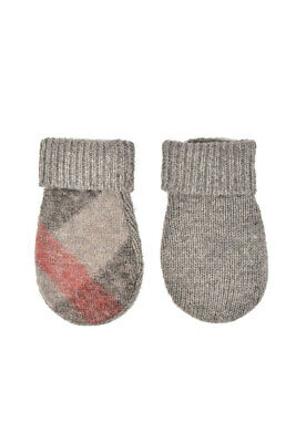Burberry Infant 4046827 Mitten Knit Grey Size S