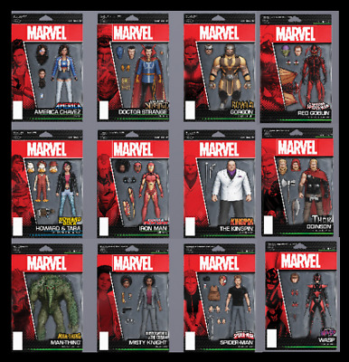 Topps Marvel Collect Card Trader Action Die-Cuts Series 1 [Set 12 Cards]