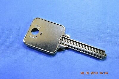 Ilco 1655 keyblank for various FireKing & Medeco products