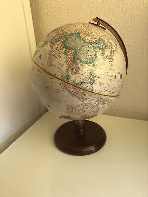"Vintage Replogle 9"" World Classic Series Globe Desktop Office"