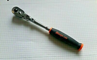 SNAP ON RATCHET.THRLX72.TOP OF RANGE RATCHET..ORANGE.new