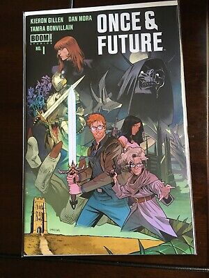 Once and Future #1 2nd Print Boom Studios  HTF HOT Gillen IN HAND NM