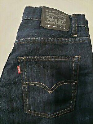 Levis Levi Strauss & CO 550 Jeans Boys 25 X 23 Relaxed