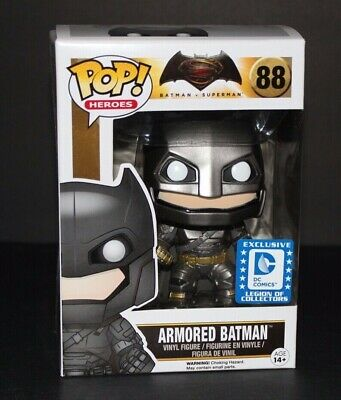 Funko Pop Justice League Armored Batman Legion of Collectors Exclusive Vaulted
