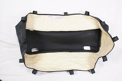 Bugaboo Frog Cameleon 1,2 Stroller Bassinet Black/Cream Carrycot Fabric Only