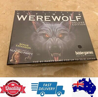One Night Ultimate Werewolf Deluxe Edition Board Game, AU Stock