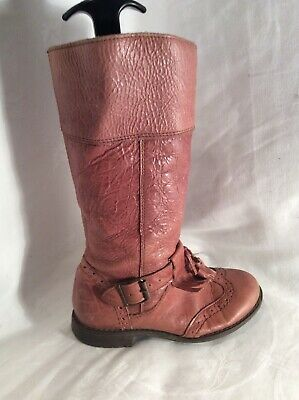 NEXT Kids Girls Leather Boots Size 11
