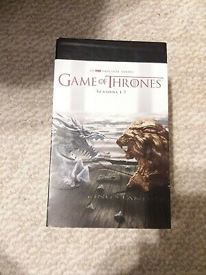 Game of Thrones ALL Seasons 1-7 Complete DVD Set Collection on 34 DVDs