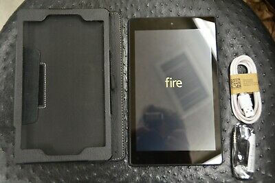 "Amazon Kindle Fire 8 Tablet 16gb 8th Generation 2018 Release With Alexa 8"" Black"