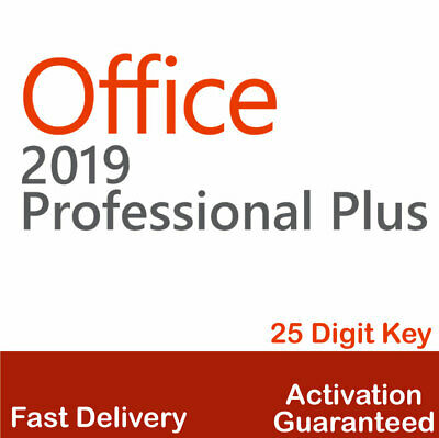 Microsoft Office 2019 Professional Plus License Key - Instant Delivery