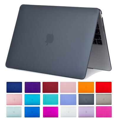 Matte Solid Color Hardshell Hard Case Cover Shell For Apple Macbook Air 11 13 UK