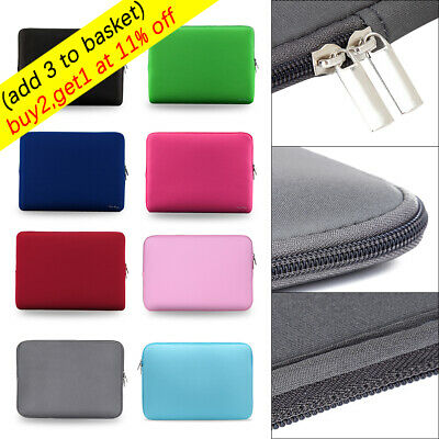 Sleeve Case Cover Laptop Bag For MacBook Air Pro Lenovo HP Dell Asus 11-17 inch~