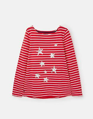 Joules 207173 Harbour Sequin in RED STAR