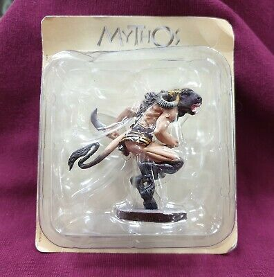 De Agostini Mythos Greek Gods Collection Figure Minotaur Resin 7 Cm Tall
