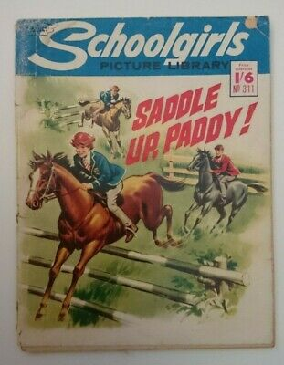 Schoolgirls Picture Library No 311 -Saddle Up Paddy- 1965