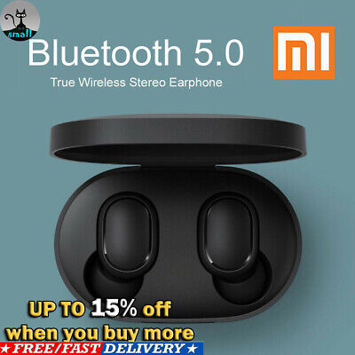 Bluetooth 5.0 Xiaomi Redmi AirDots Wireless TWS Earphone Active Earbuds Headsets