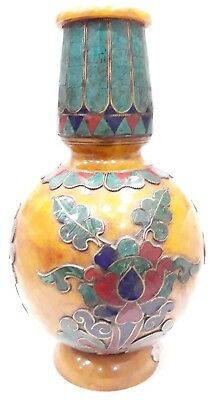 Decoration Amber Surahi Ancient From India, Decor Fine Art For Home & Office