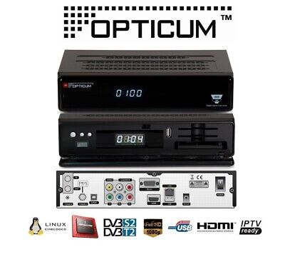 Decoder Enigma 2 Combo Opticum Odin Twin 1xDVBS2 / 1xDVBT2/C