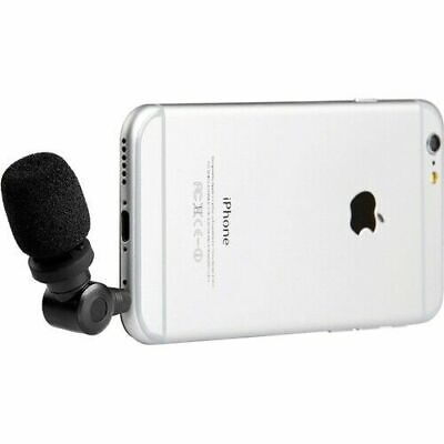 Saramonic SmartMic Condenser Microphone for iOS Android Smartphone - 3.5mm jack