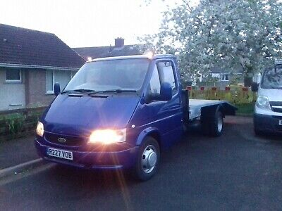 Mk5 Ford transit 2.5di Lwb recovery truck. Ready for work.