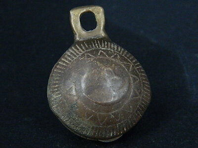 Ancient Bronze Bell Islamic 1700 AD #BR1564