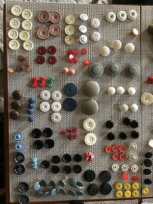 Vintage Buttons N Buckles In Nestle Tin 1.6kg