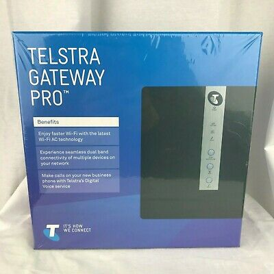 Netgear Telstra Gateway Pro Dual Band Wifi Nbn/Adsl 2+ Modem Router V7610-1Tlaus