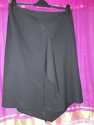Marks and Spencer Limited Collection black evening skirt , size 18