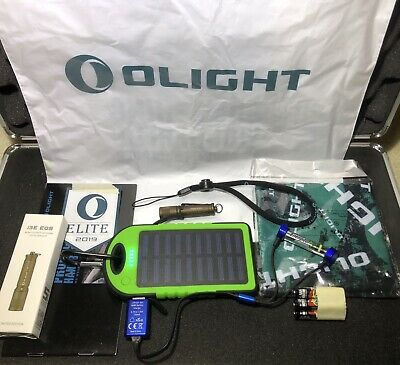 Olight i3E EOS Desert Tan ELITE Limited Edition LED Flashlight Emergency Kit