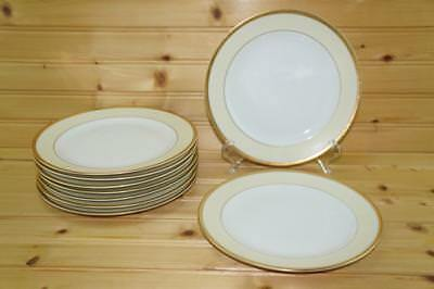 Meito China White / Cream with Gold Trim (9) Salad Plates   Japan