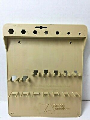 Vermont American HEX Screw Driver Tool Rack ONLY for Set of 7 Nut Drivers