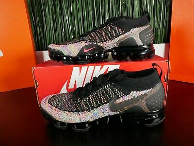 Nike Air Vapormax 2 Flyknit Multicolor Running Shoes 942842 017 Size 9