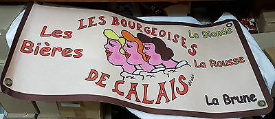 "Banderole biére ""Les Bourgeoises de Calais"" - collection"