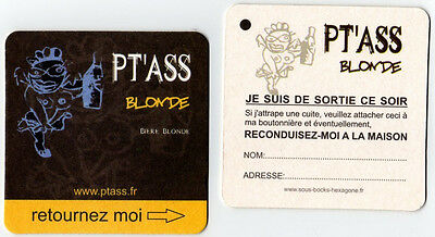 Sous Bock Biere PT'ASS Blonde