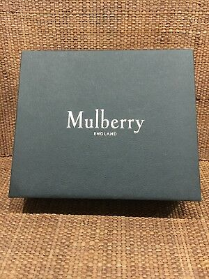 Genuine Mulberry Empty Wallet Gift Box