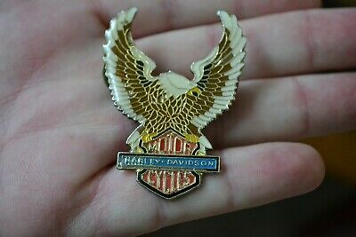 HarleyDavidson Eagle & Bar & Shield Pin  Vintage Batch