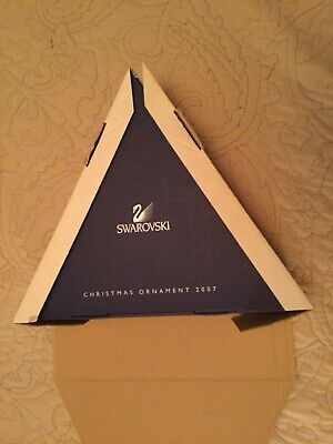 Swarovski 2007 Empty Dealer Storage + Outer Box For 12 Large Christmas Ornaments