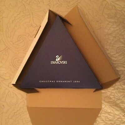 Swarovski 2006 Empty Dealer Storage + Outer Box For 12 Large Christmas Ornaments