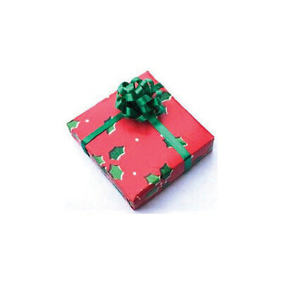 Dollhouse Miniature Christmas Wrapping Mess with Paper Ribbon /& Bows ~ CI5059