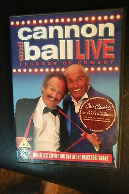Cannon And Ball Live LEGENDS OF COMEDY (DVD) Filmed in Blackpool FREE 1st Class