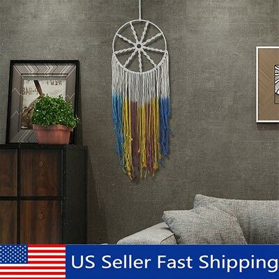 """52"""" Colorful Large Dream Catcher Wall Hanging Ornament Handmade Craft Decoration"""