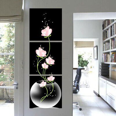 Modern Abstract Flower Art Canvas Print Painting Picture Home Room Wall