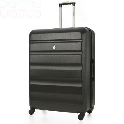 Aerolite Large Super Lightweight ABS Hard Shell Travel Hold Large, Charcoal